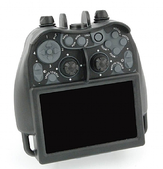 rugged hand held controller with 5.6 inch HD screen (הגדל)